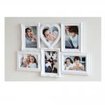 """Galerierahmen """"Heart"""" für 6 Fotos"""