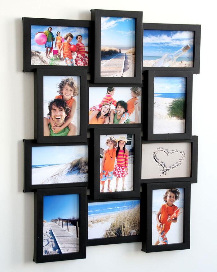 Galerierahmen für 12 Fotos