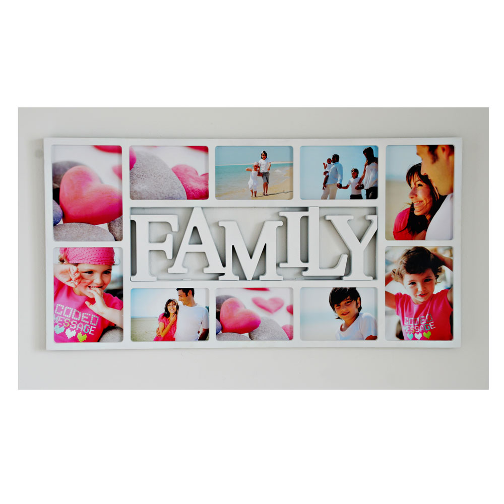 "Symbol Galerierahmen ""Family"" für 10 Fotos"